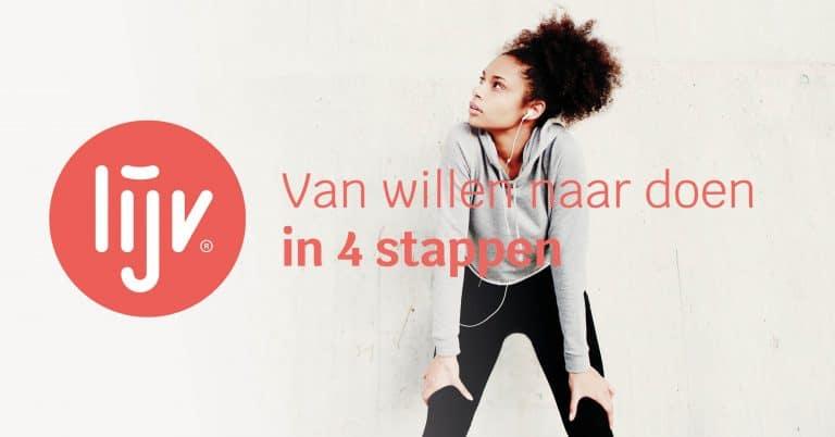 Van willen naar doen in 4 stappen
