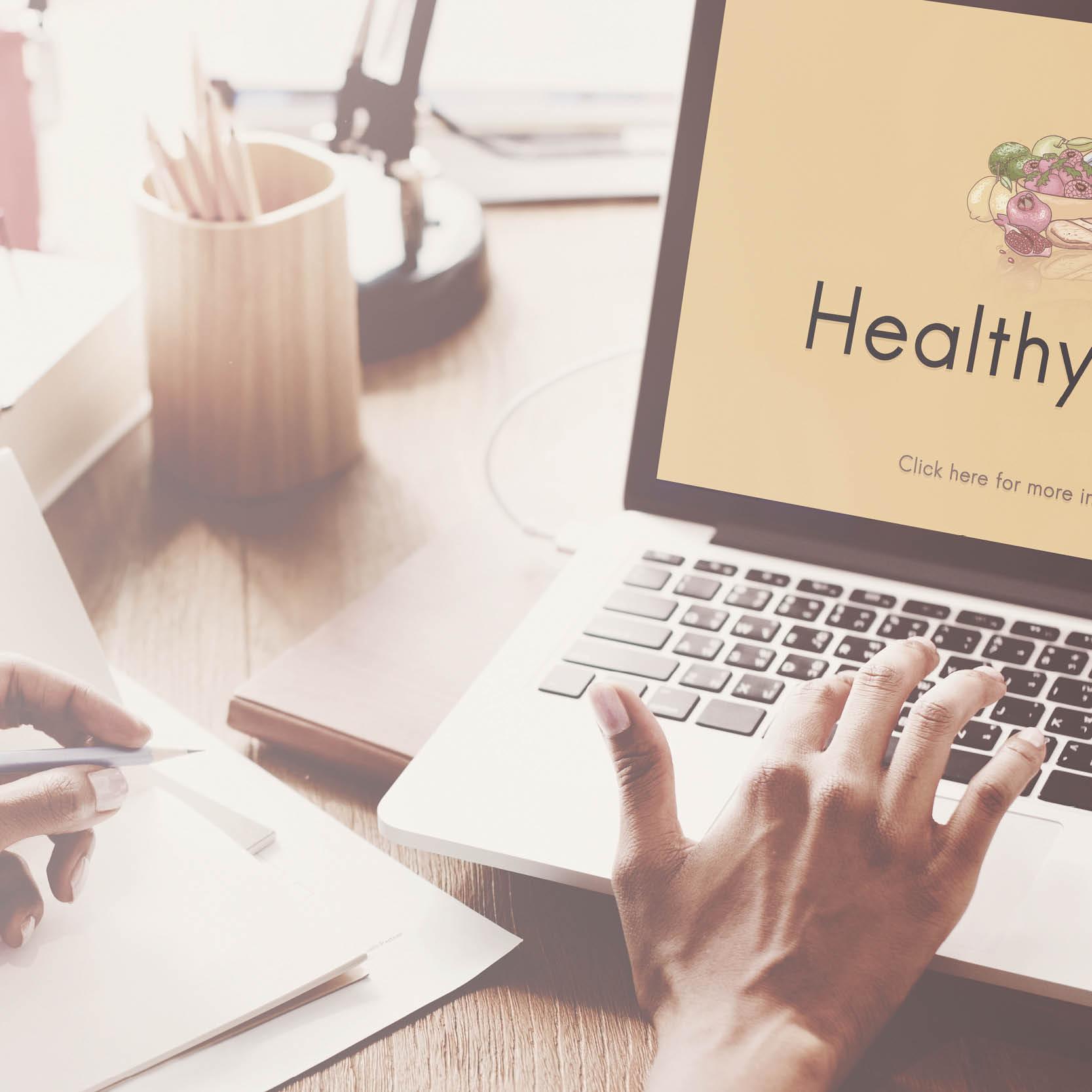 Voeding en beweging online