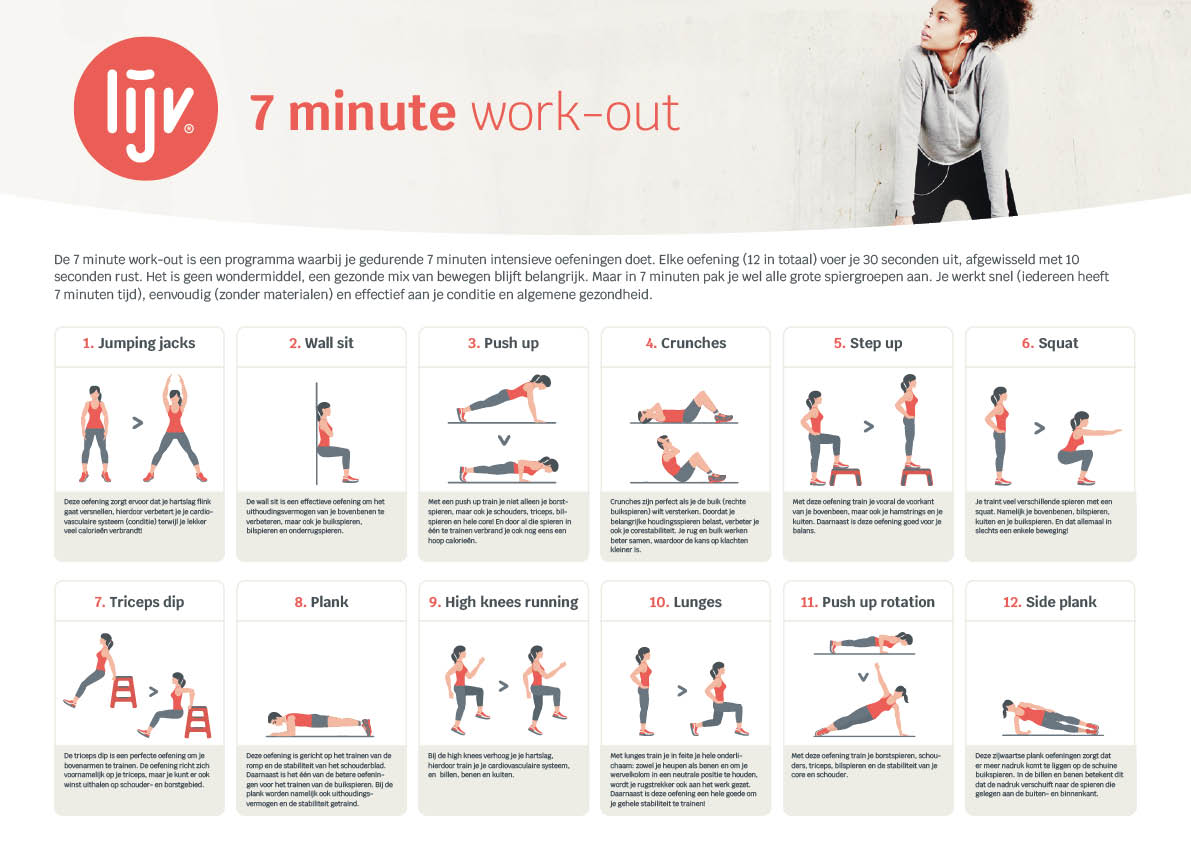 7 minute work-out